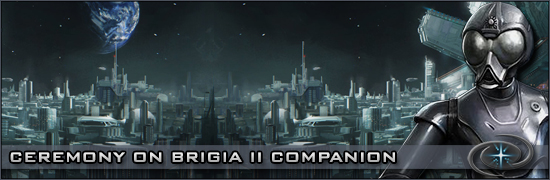 Ceremony on Brigia II Companion