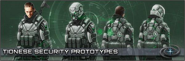 Tionese Security Prototype Uniforms