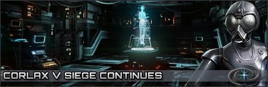 Corlax V Siege Continues